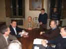 Il Consiglio con il nuovo Presidente della Fondazione, Aldo Norsa